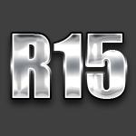 Радиус R15