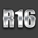 Радиус R16