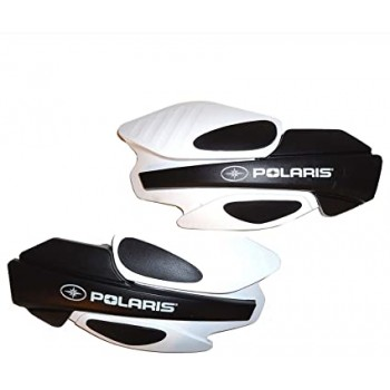 Защита рук квадроцикла/снегохода (пластиковые щитки) белые, оригинальные Polaris 2876883