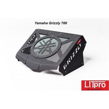 Вынос радиатора алюминиевый Yamaha Grizzly 700/550 2007+ LiTPRO-GRIZZLY-ALU-Bl