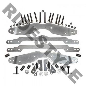 """Регулируемый лифт кит квадроцикла Polaris RZR 800 2008-2012 SuperATV 1,5-3"""" LK-P-RZR-1-3ADJ"""