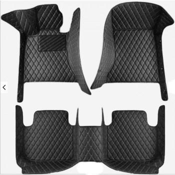 Комплект люксовых ковров в салон Dodge Challenger 2015+ Nichman FloorChallenger4