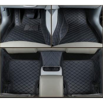 Комплект черных люксовых ковров в салон Dodge RAM 2008-2018 Nichman FloorRAM4