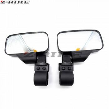 """Зеркала для UTV прямоугольные для трубы 1,75"""" и 2"""" Can-Am /Polaris /Yamaha /ATV /Honda RM099CA /FTVMI017"""
