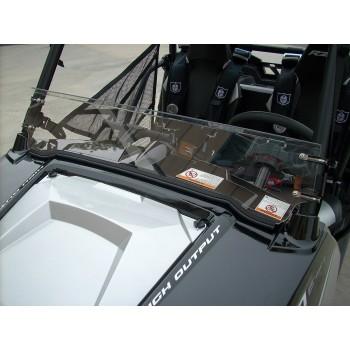 Стекло половинка для Polaris RZR 900/800/570 08-14 UTVA101-1