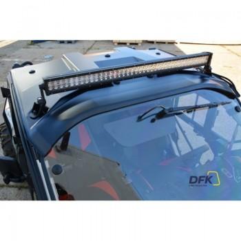 Лобовое стекло со стеклоочистителем и бочком омывателя DFK для BRP Maverick x3 715003283 DFK-WS-X3