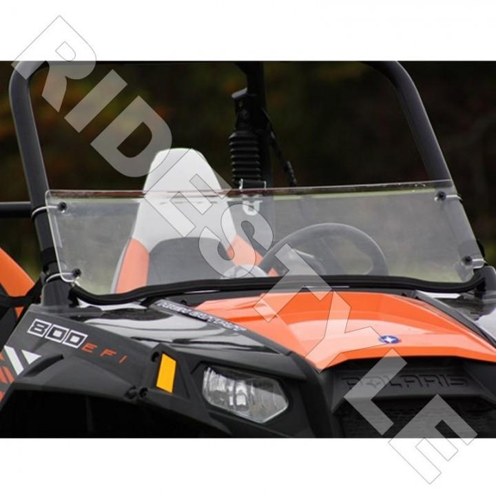 Ветровое стекло квадроцикла Polaris RZR 800/900 S/4/XP 2008-2014 SuperATV Half Windshield WS-P-RZR