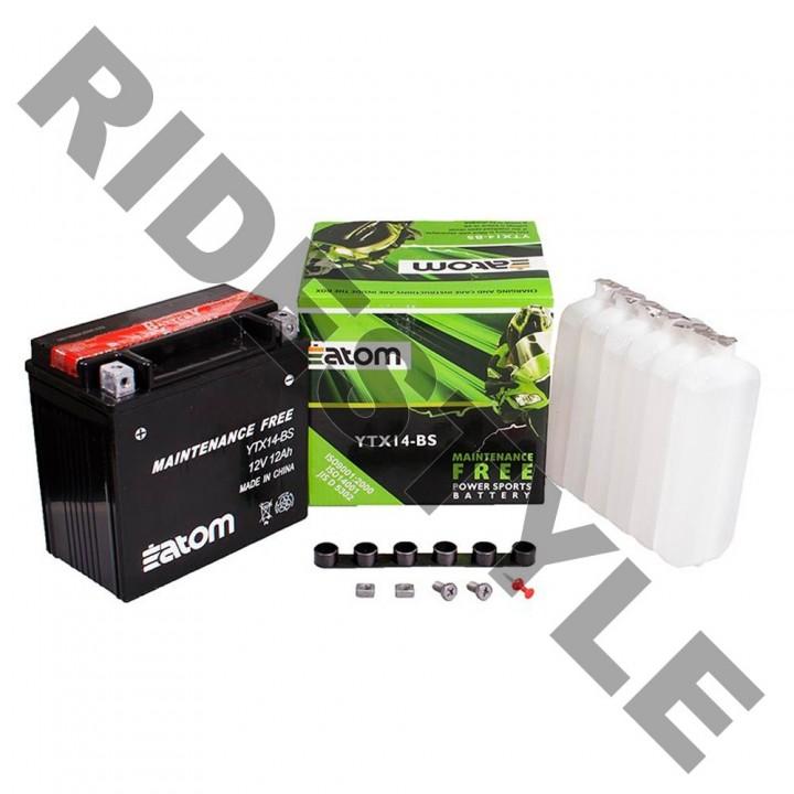 Аккумулятор Atom YTX14-BS