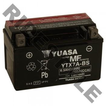 Аккумулятор Yuasa YTX7A-BS