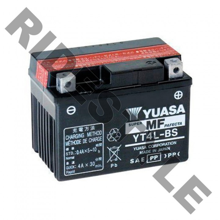 Аккумулятор Yuasa YT4L-BS