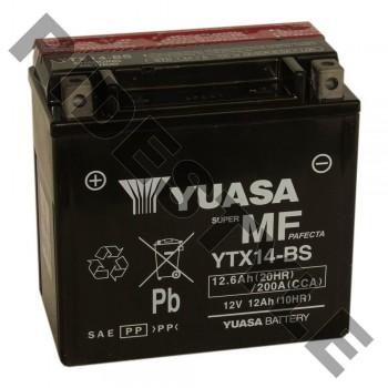 Аккумулятор Yuasa YTX14-BS