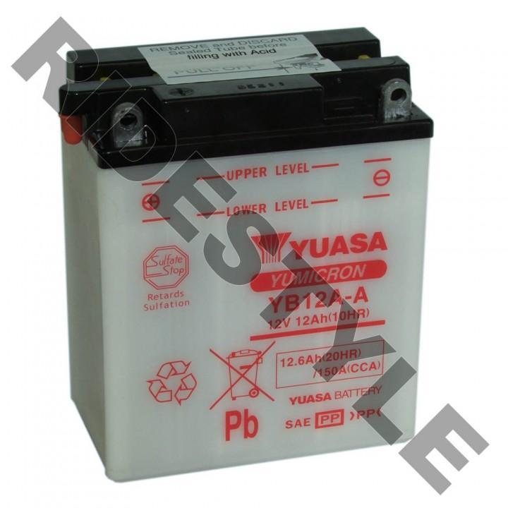 Аккумулятор Yuasa YB12A-A (12N12A-4A-1)
