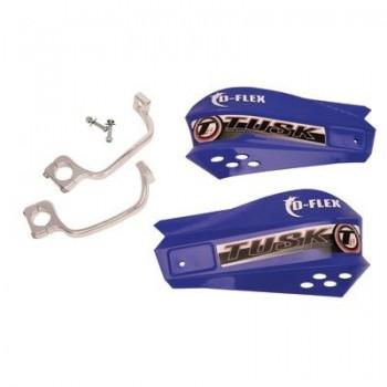 Защита рук синяя с одноточечным установочным комплектом 22мм Tusk MX D-Flex 1198150002