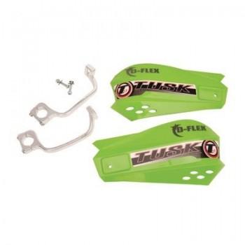 Защита рук зеленая с одноточечным установочным комплектом 22мм Tusk MX D-Flex 1198150003