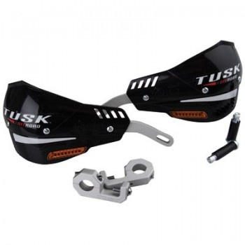 Защита рук с поворотниками черная двухточечная 22мм Tusk D-Flex Pro Handguards w/Turn 1760340001