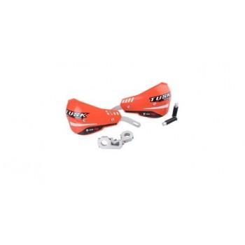 """Защита рук оранжевая двухточечная 22мм Tusk D-Flex Pro Handguards Orange 7/8"""" Bars 1760390014"""
