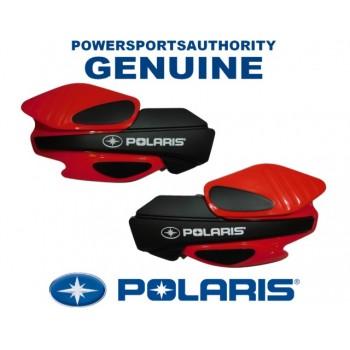Защита рук квадроцикла/снегохода (пластиковые щитки), оригинальная красная Polaris 2876845
