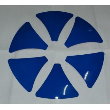 Вставки  для дисков System-6  № S6INS-Blu