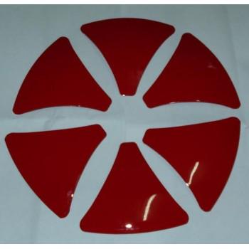 Вставки  для дисков System-6  № S6INS-Red