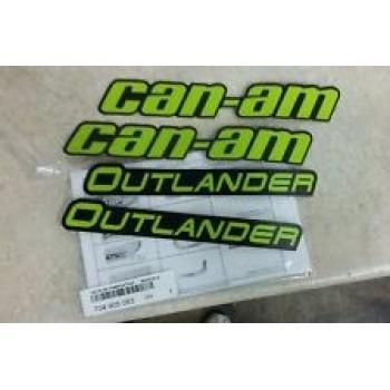 Наклейки расширителей арок Can-Am Digital Camo 704905083