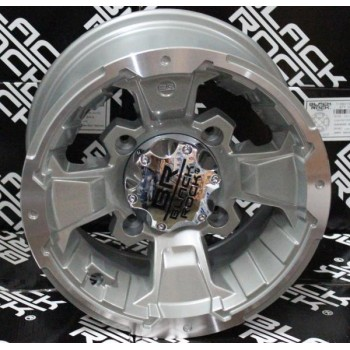 Диск для квадроцикла Carlisle Black-Rock Intruder 4/137 5+2 12x7 Machined