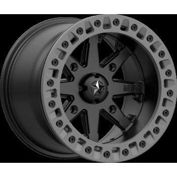 Диск колесный с бедлоком для квадроциклов BRP /Can-Am Maverick /Commander /Outlander /Renegade MSA M31 LOK2 Satin Black Matte Gray Ring, R15x7, 4x137 31-05737