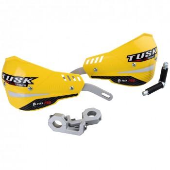 """Защита рук желтая двухточечная 22мм Tusk D-Flex Pro Handguards Yellow 7/8"""" Bars 1760390011"""