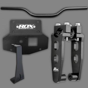 Комплект проставки 5 юймов, кронштейна и руля Yamaha Grizzly 700 16-18 ROX 2CK-008