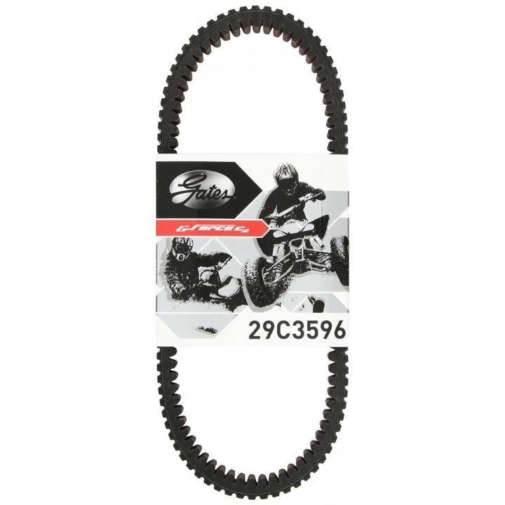 Ремень вариатора квадроцикла усилен карбон Yamaha Grizzly 700/550 Cectek Gates G-Force C12 29C3596