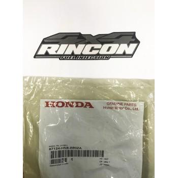 Наклейка на пластик рулевой колонки квадроцикла Honda TRX 680 2009-2016 87124-HN8-B80ZA