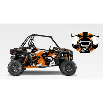 Комплект виниловой графики UTV FX Graphics Klim Camo для квадроцикла Polaris RZR