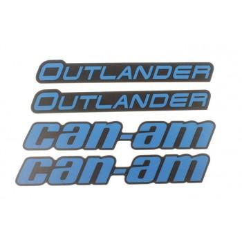 Наклейки расширителей арок Digital Blue BRP Can Am Outlander 704905101