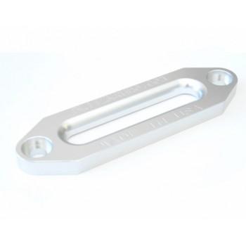 Клюз алюминиевый для лебедок 154мм с синтетическим тросом серебро TSK1655