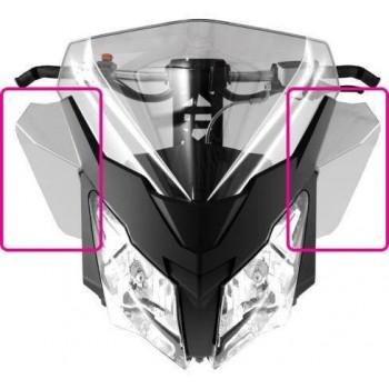 Дефлекторы стекла Ski-Doo REV-XM, REV-XS под 860201182 /860200928 и зеркала 860200694 /60200912