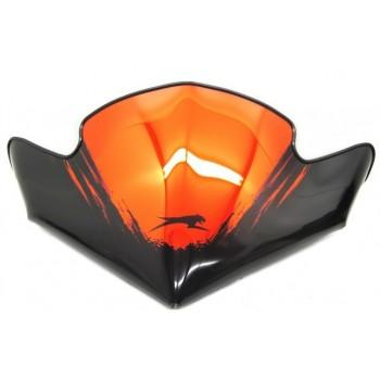 Стекло оригинальное снегохода Arctic Cat Orange Chrome Flyscreen Z1 TZ1 Touring 09-13 5639-599