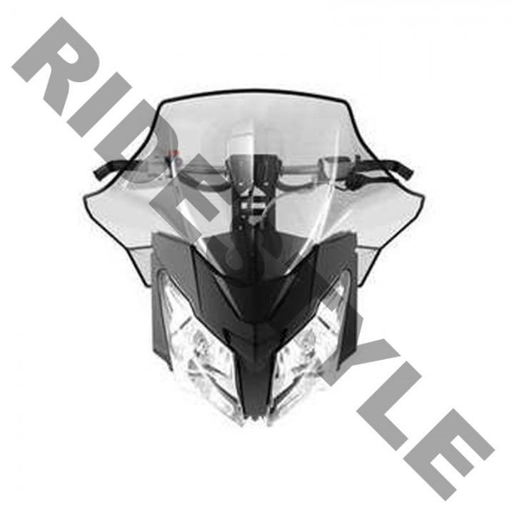 Ветровое стекло высокое 41см Ski-Doo Rev-XM,REV-XS Sport Performance Flared High 517305023 860200602
