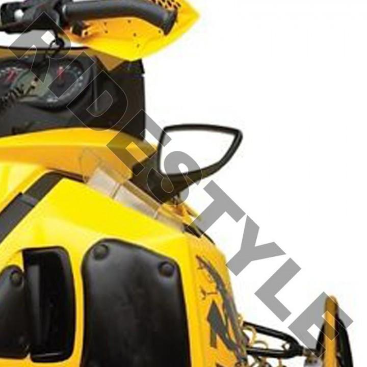 Зеркала снегохода на боковой пластик Ski-Doo/LYNX REV-XP, REV-XR, REV-XU Tundra 860200693 /860200284
