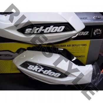 Защита рук снегохода на руль белая/черная Brp/Ski-Doo 860200711 /860200096 /860200469