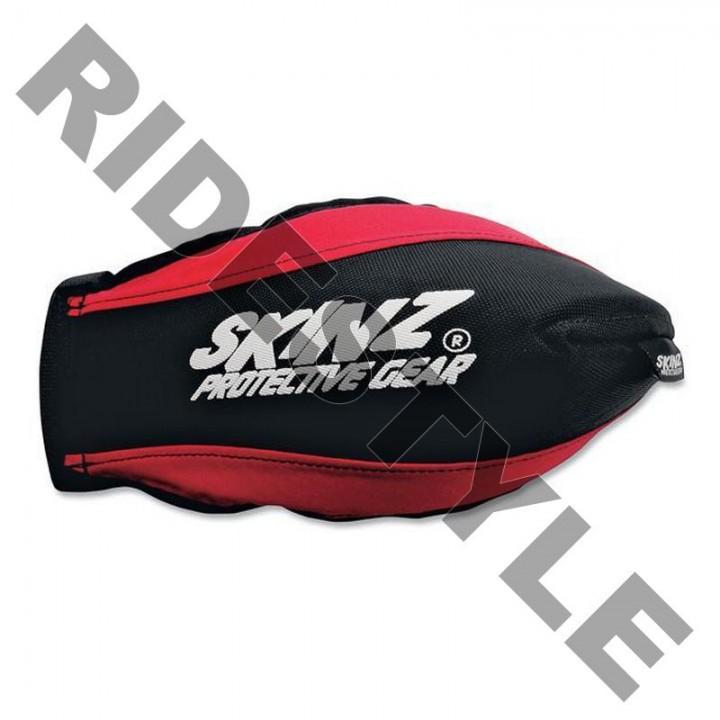 Защита рук снегохода на руль, мягкая Skinz HGP100-BK-RD