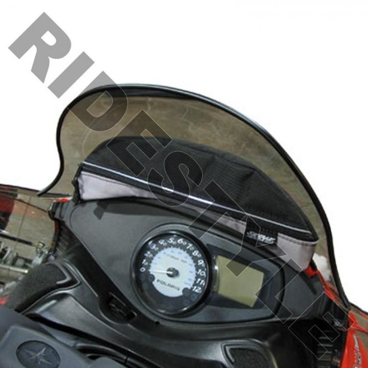 Сумка под стекло снегохода Polaris IQ мягкая Skinz PWP200-BK