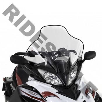 Ветровое стекло снегохода Yamaha Apex 2011-2014 высокое LARGE WINDSHIELD ASS SMA-8HG96-30-BK