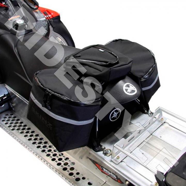Кофр мягкий на сиденье снегохода универсальный Skinz Gear USB100-BK