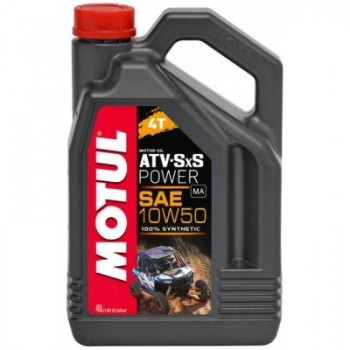 Мотор/масло MOTUL ATV SXS POWER 4T 10w50 (4л) 105901