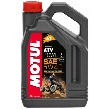 Мотор/масло MOTUL ATV POWER 4T 5w40 (4л) 105898