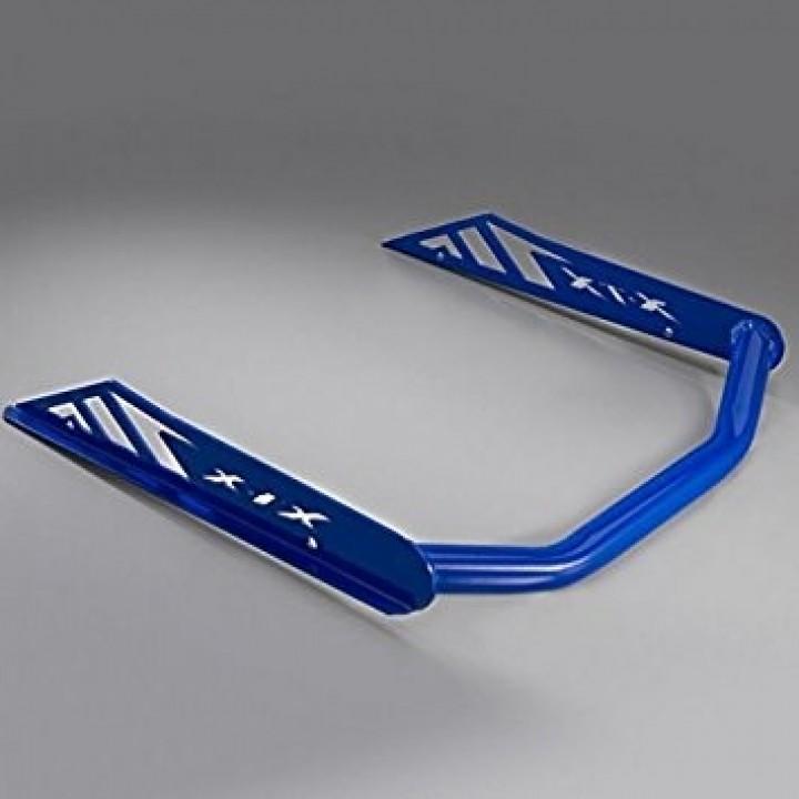 Бампер снегохода задний синий Yamaha Nytro SMA-8HLRR-BU-BL