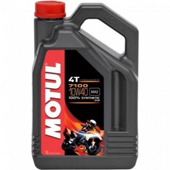 Моторное масло Motul 7100 4T 10W40 4литра. /101371/017846