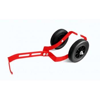 Тележки снегоходные красные Hord Sled Roller H16-SR-RD
