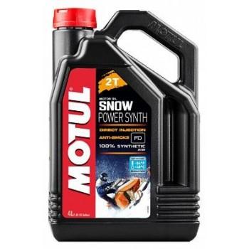 Моторное масло для снегоходов синтетическое Motul Snowpower 2T 4л 108210