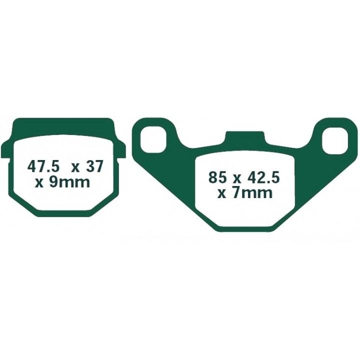 Тормозные колодки передние Stels FA083
