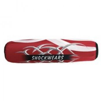 Чехлы на амортизатор красные Outerwears Evolution Tribal Shockwears 45-1007-22